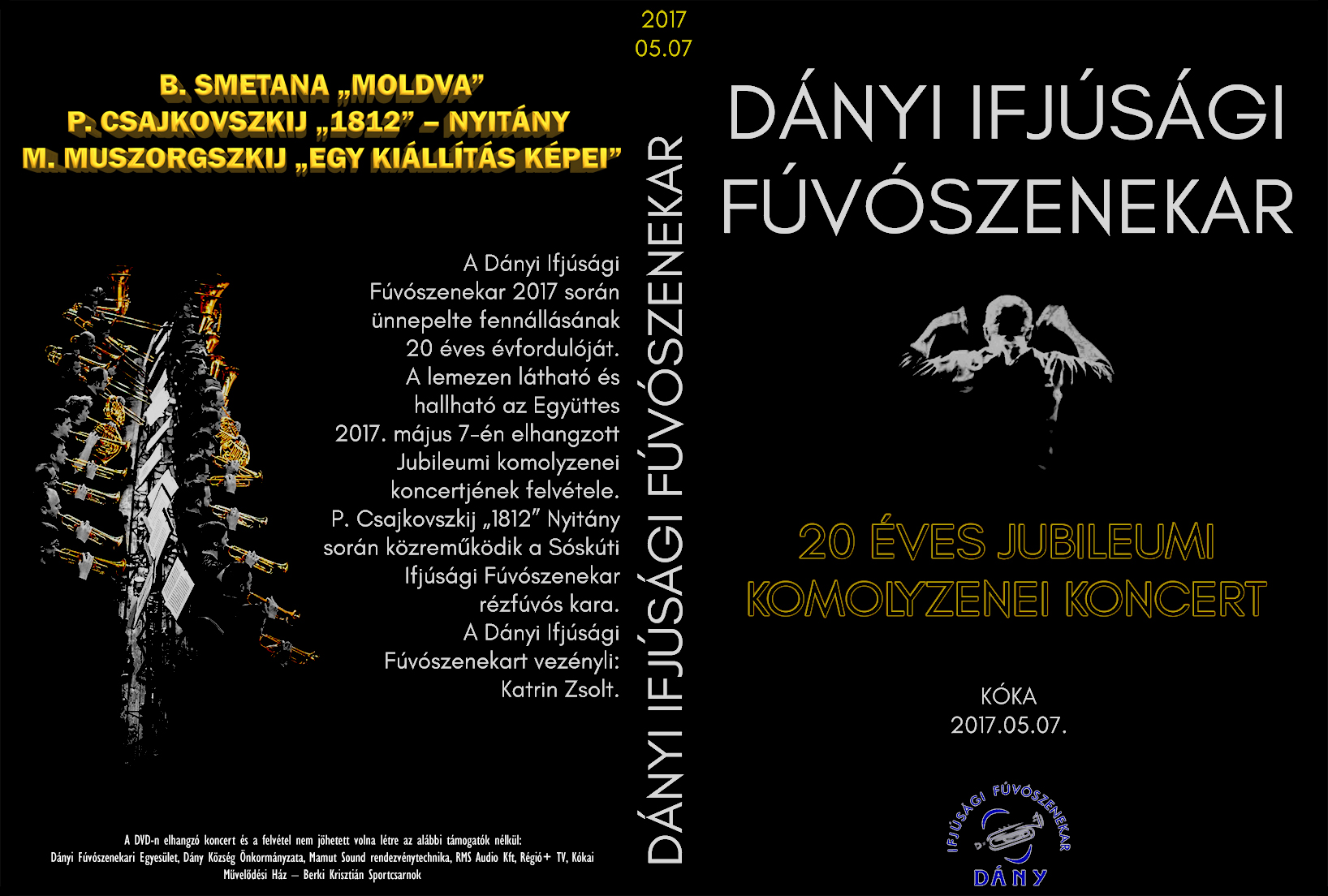 20 éves Jubileumi Koncert DVD borító